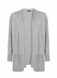 Grey Side Split Cardigan, Others