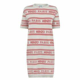 Kenzo Kenzo Stripe Logo Knit Dress