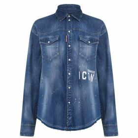 DSquared2 Dsquared2 New Icon Denim Shirt