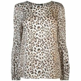 Marc Aurel Leopard Blouse