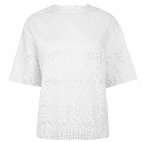 Chloe Embroidered Cotton Top