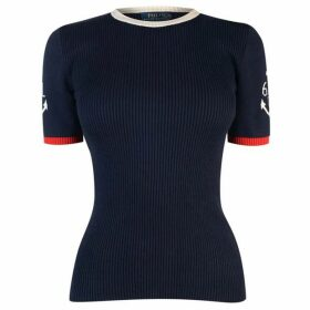 Polo Ralph Lauren Anchor Short Sleeve Sweater