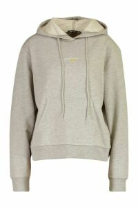 Womens Official Woman Over the Head Hoodie - grey - 16, Grey