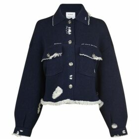Barrie Barrie Knit Denim Jacket