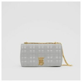 Burberry Small Quilted Lambskin Lola Bag, Grey