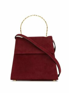 Salvatore Ferragamo Pre-Owned Gancini 2way bag - Red