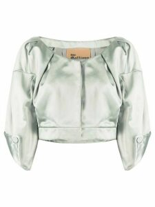 John Galliano Pre-Owned 1990s three-quarter sleeves cropped top -
