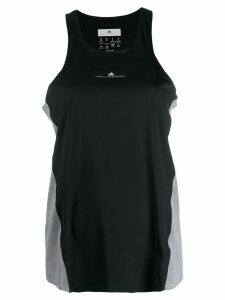 adidas by Stella McCartney perforated details tank top - Black