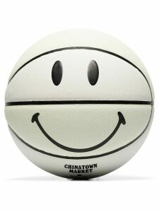 Chinatown Market x SMILEY sunlight-activated basketball - White