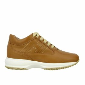 Hogan Sneakers Interactive Hogan Leather Sneakers With Perforated H