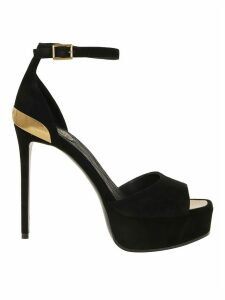 Balmain Sandal Pippa-suede Leather