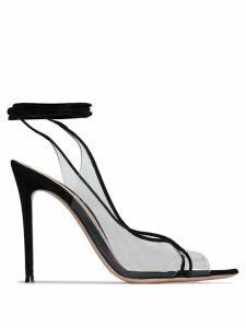 Gianvito Rossi Denise illusion wrap-around sandals - Black
