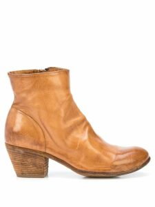 Officine Creative Giselle ankle boots - Brown