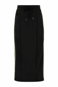 Palm Angels Techno Jersey Pencil Skirt