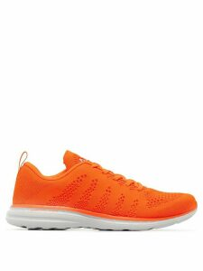 Athletic Propulsion Labs mesh lace-up sneakers - ORANGE