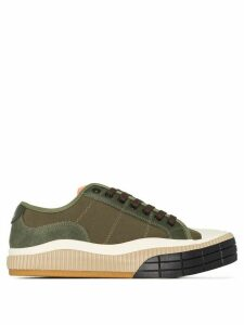 Chloé Clint low-top sneakers - Green