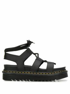 Dr. Martens Nartilla Grizzly 40mm sandals - Black