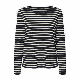 Striped Cotton Mix Jumper