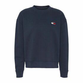 Crew-Neck Sweatshirt with Long-Sleeves