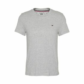 Crew-Neck T-Shirt with Short Sleeves