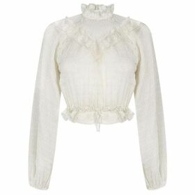 Zimmermann Lace Yoke Blouse