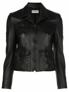 Saint Laurent Zipped Up Jacket