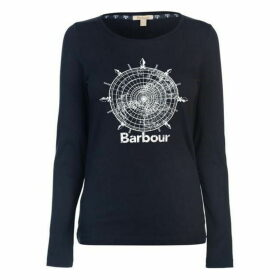 Barbour International Shipper Long Sleeve T Shirt