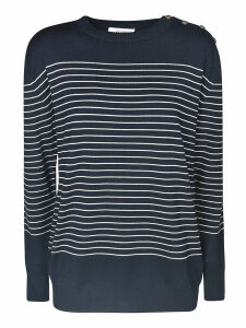 Max Mara Striped Print Sweater