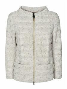 Herno Embellished Detail Padded Jacket