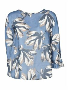 Max Mara The Cube Tropical Print Blouse