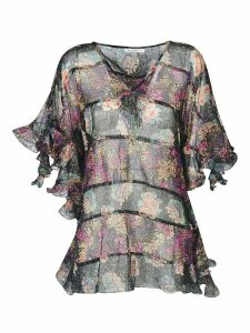 Mes Demoiselles Printed Tunic Blouse