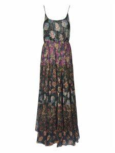 Mes Demoiselles Multi-print Long Dress