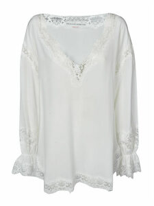 Ermanno Scervino Laced Detail Blouse