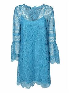 Alberta Ferretti Laced Short Dress