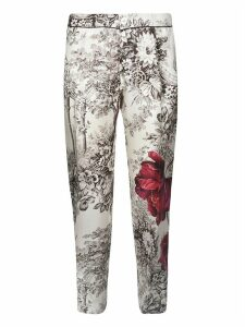 For Restless Sleepers Floral Detail Trousers