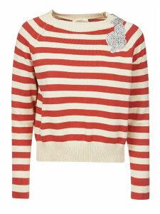 SEMICOUTURE Striped Sweater