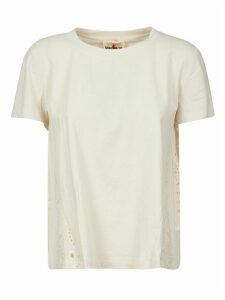 SEMICOUTURE Back Perforated Detail T-shirt
