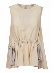 RED Valentino Bow-tie Detail Sleeveless Top