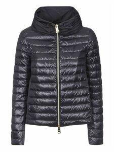 Herno Wide Neck Zipped Padded Jacket