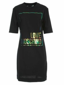 Love Moschino Jersey Dress S/s W/written