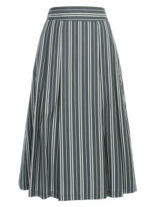 Aspesi Striped Knitted Skirt