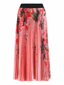 Givenchy Floral Print Skirt