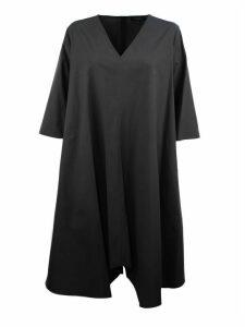 Antonelli Grey Cotton Dress