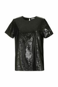 Parosh Sequined Top