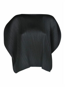 Pleats Please Issey Miyake Curved Top