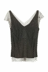 Pinko Esteban Mesh Top