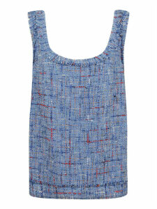 Balmain Tweed Tank Top