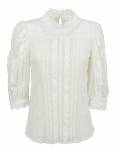 See by Chloé Embroidered Cotton Mesh
