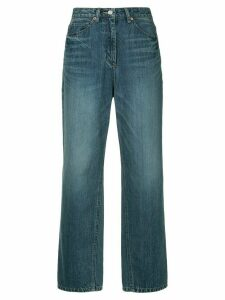 System wide leg straight jeans - Blue