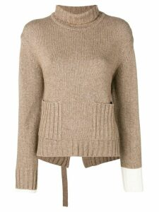 Eudon Choi Elenor sweater - Brown